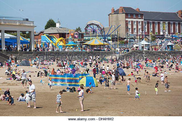 Barry Island Beach Stockfotos Und Barry Island Beach Stockbilder