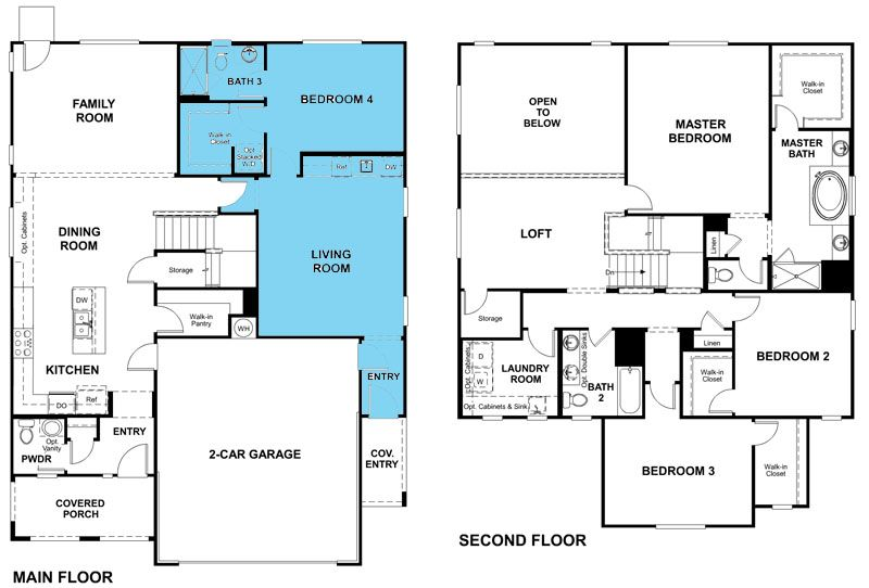 New Lennar Multi Generational Homes For Sale Las Vegas Nv Fusion Homes Multigenerational House Plans Multigenerational House Two Story House Plans