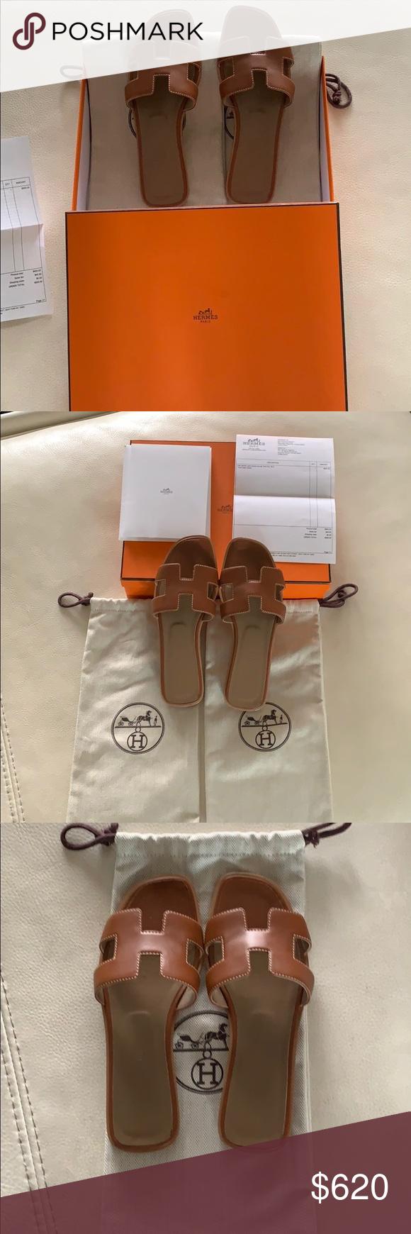 Hermes Oran Sandals 💯% Authentique Hermes Oran Sandals que j'ai acheté en ligne …   – My Posh Picks