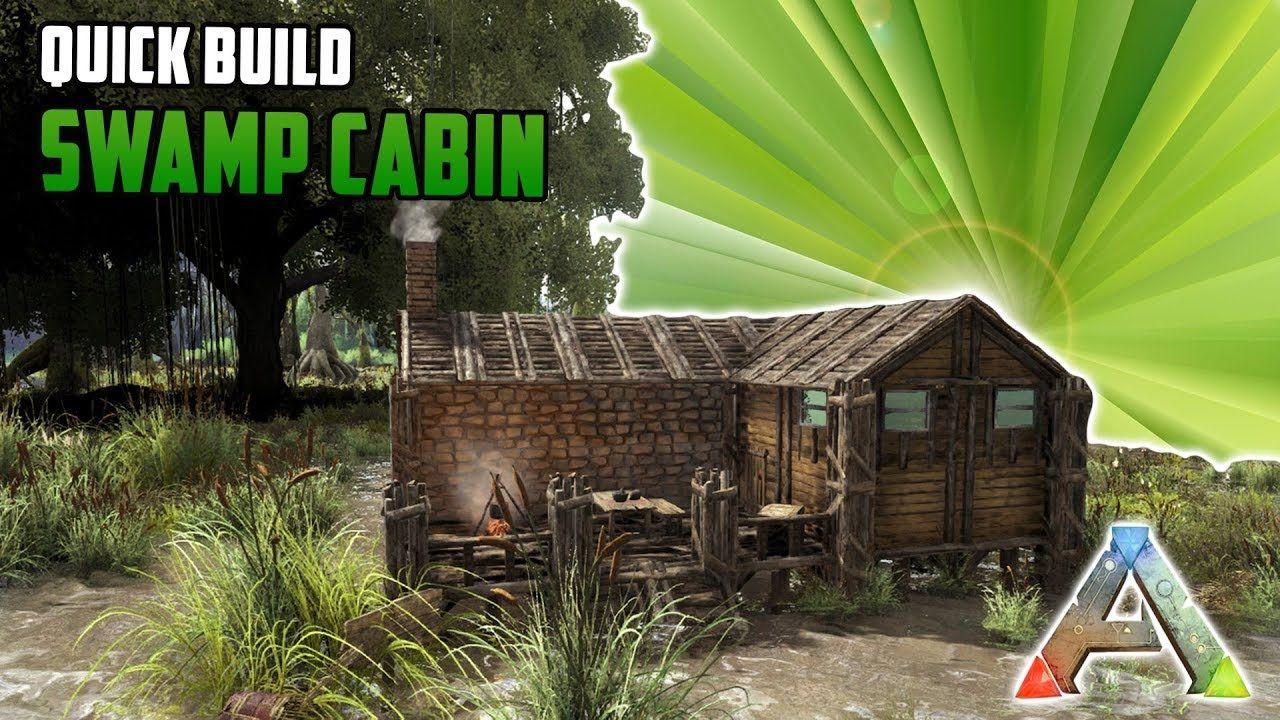 Swamp Cabin Quick Build Ark Survival Ark Survival Evolved Bases Ark Evolution Ark Survival Evolved