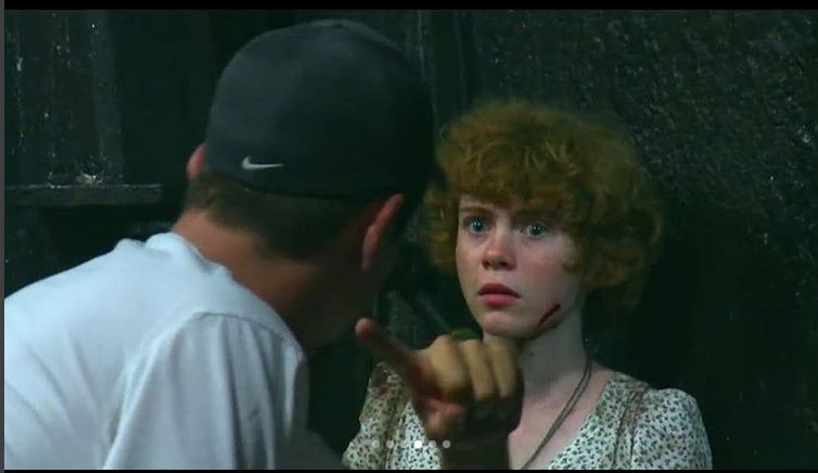 Andy Muschietti and Sophia Lillis in It (2017) | It the