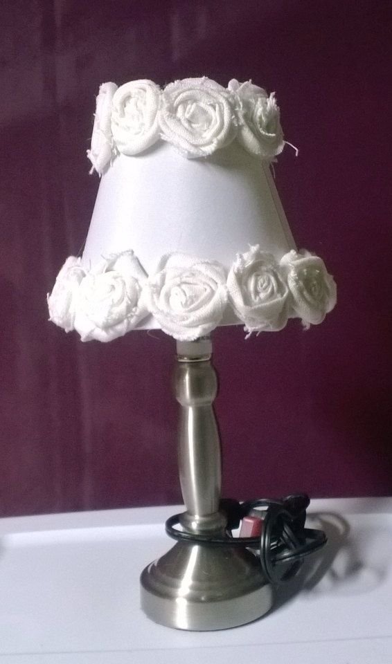 Shabby chic lamp on Etsy, $40.00