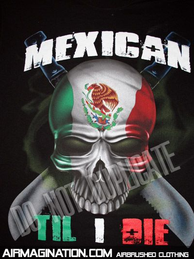 air brush mexican flag get Inspired at