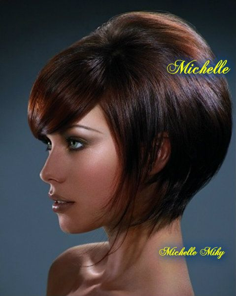 Pizap By Michelle Miky Delsanto Straight Hairstyles Short Hair Styles Brown Straight Hair
