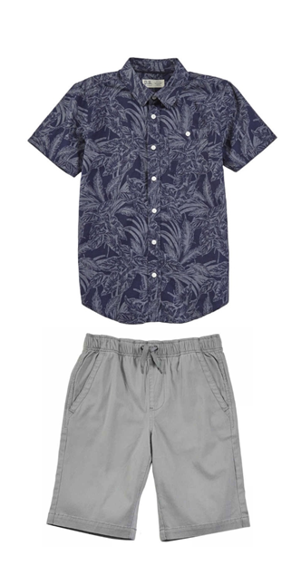 a9c5cfff0f2d Need a comfy dress up boys outfit for your little man  Try this navy ...