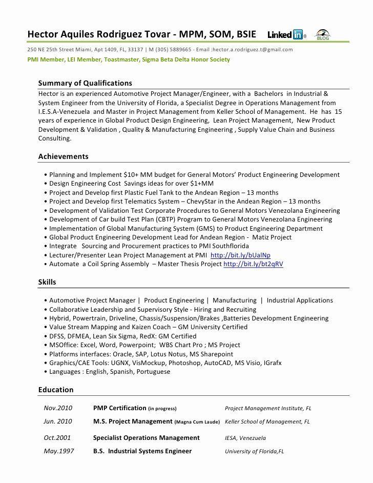 Automobile Service Manager Resume Elegant Resume Functional Automotive Job Resume Samples Sample Resume Engineering Resume
