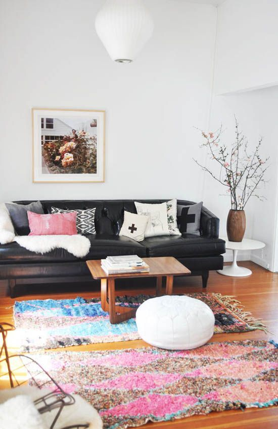 In A Feng Shui Sense You Can Use Throw Rugs To Add Personality To A Space And Ground It And Much More Home Living Room Room Decor New Living Room