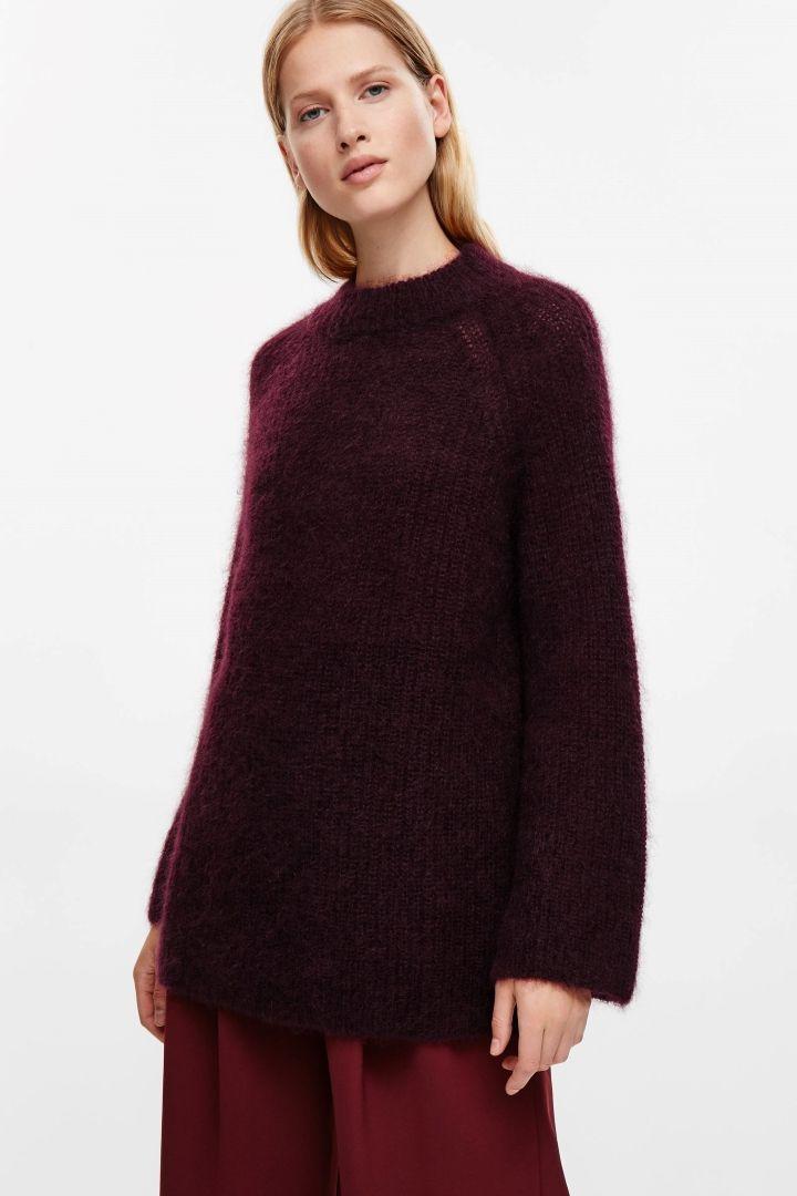 cb56f2d5b0b COS | Oversized high-neck jumper | My closet | High neck jumper ...