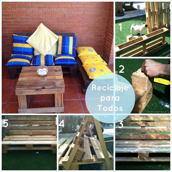 6 pasos para crear un sillón de palets. ¡Nos encanta el reciclaje!
