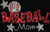Baseball Mom w/Stars