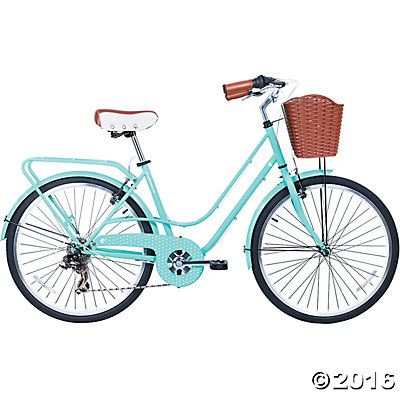 Women S 6 Speed Avenue Hybrid Commuter Bike Turquoise Discontinued Commuter Bike Bicycle Road Bicycle