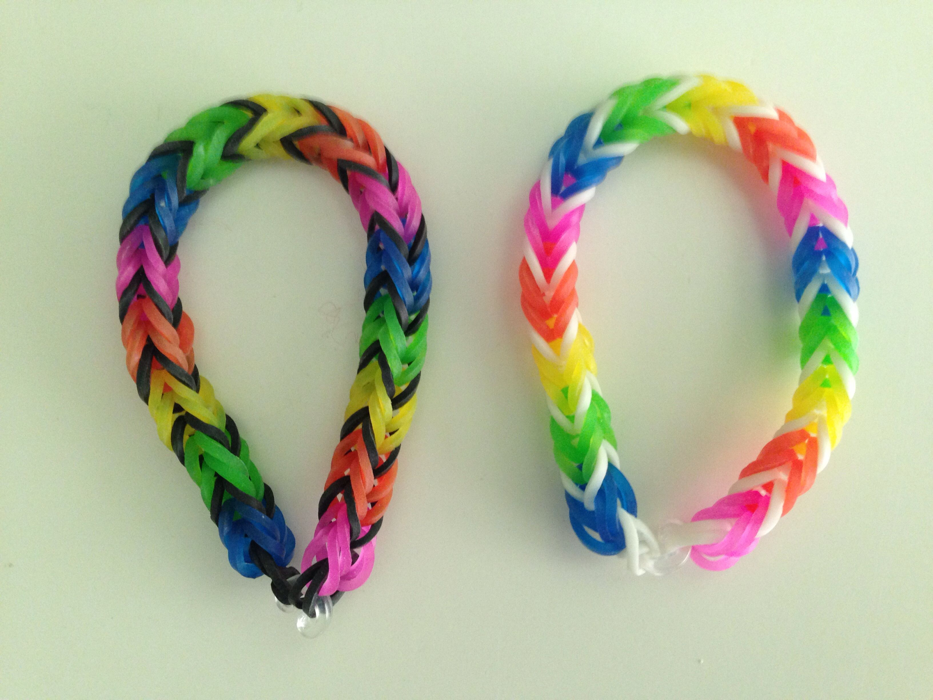 Rainbow Loom Fishtail What A Difference One Band Color