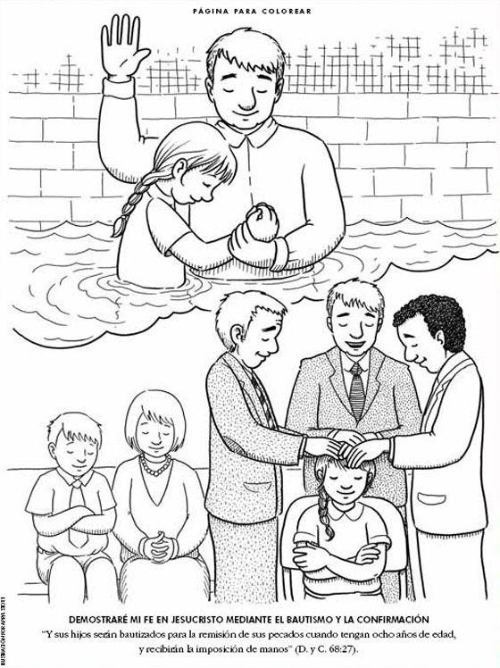 bautismo y confirmacion | PRIMARIA SUD | Pinterest | LDS, Lds ...