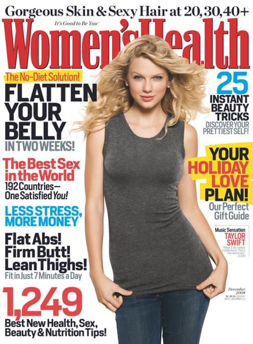 womens health magazine covers on diets
