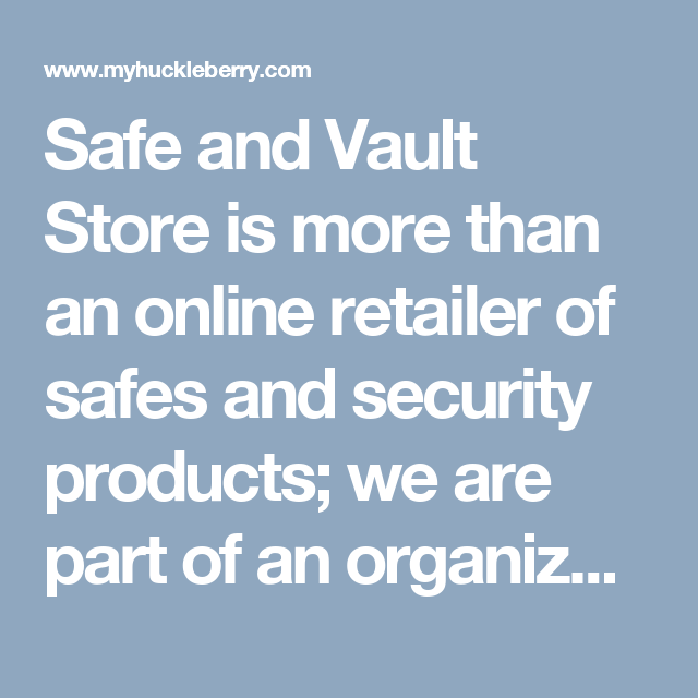 Safe and Vault Store is more than an online retailer of safes and security products; we are part of an organization originally chartered in 1902 called Spokane Safe & Lock that specialized in selling and servicing small safes as well as key and locksmithing services. In 1948 we became part of a larger organization, Allied Safe & Vault, Co. dba Allied Fire and Security and expanded our products and services to include bank security products such as vault doors, safe deposit boxes.