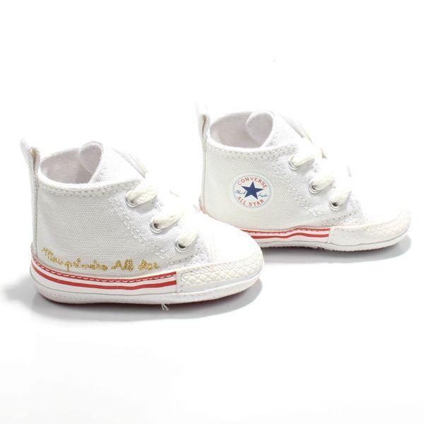 Tênis Bebê meu Primeiro Converse All Star Branco