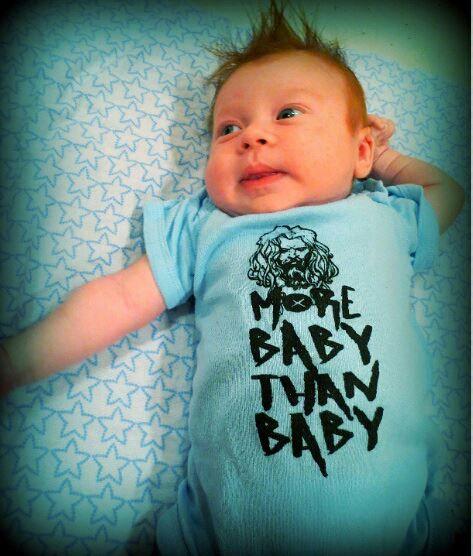 More Baby ... Onsie idea