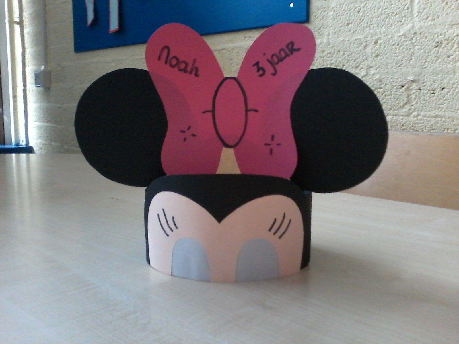 Minnie Mouse Hoed Met Afbeeldingen