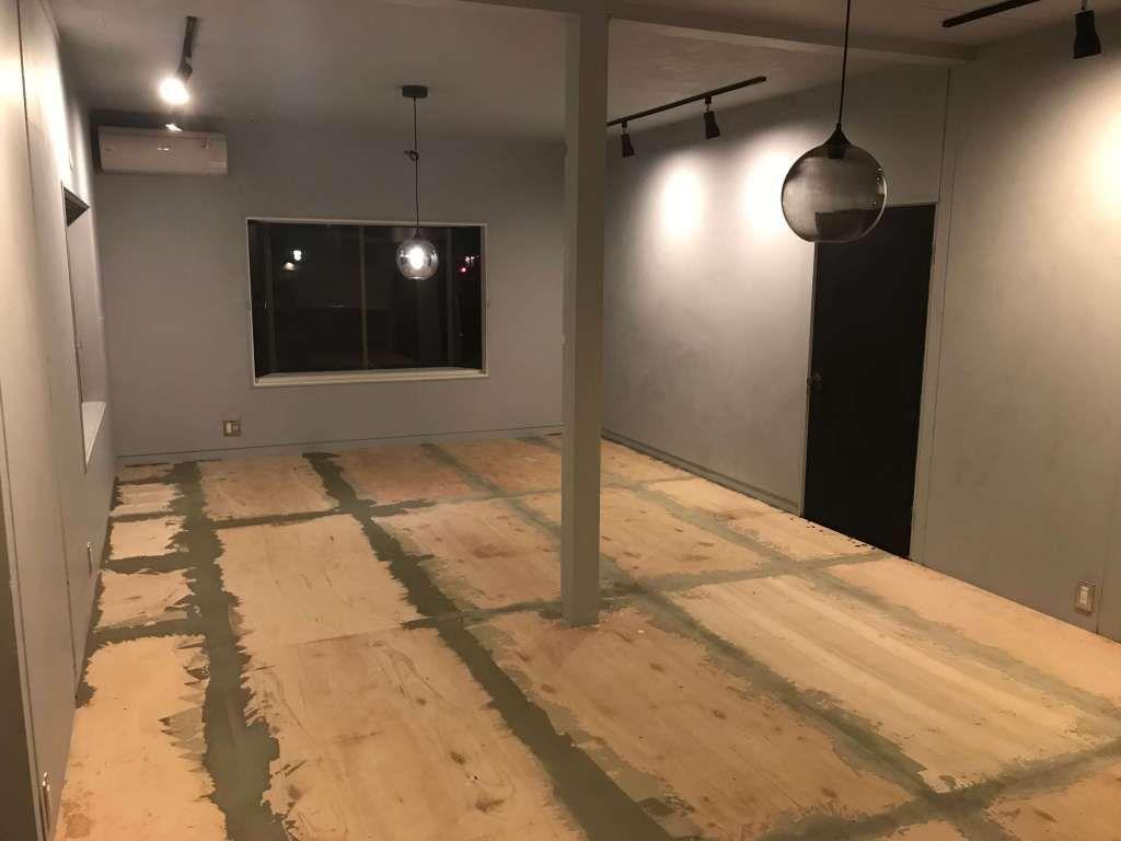 コンパネの床にクッションフロアを貼る Cfの敷き方と下処理の方法を