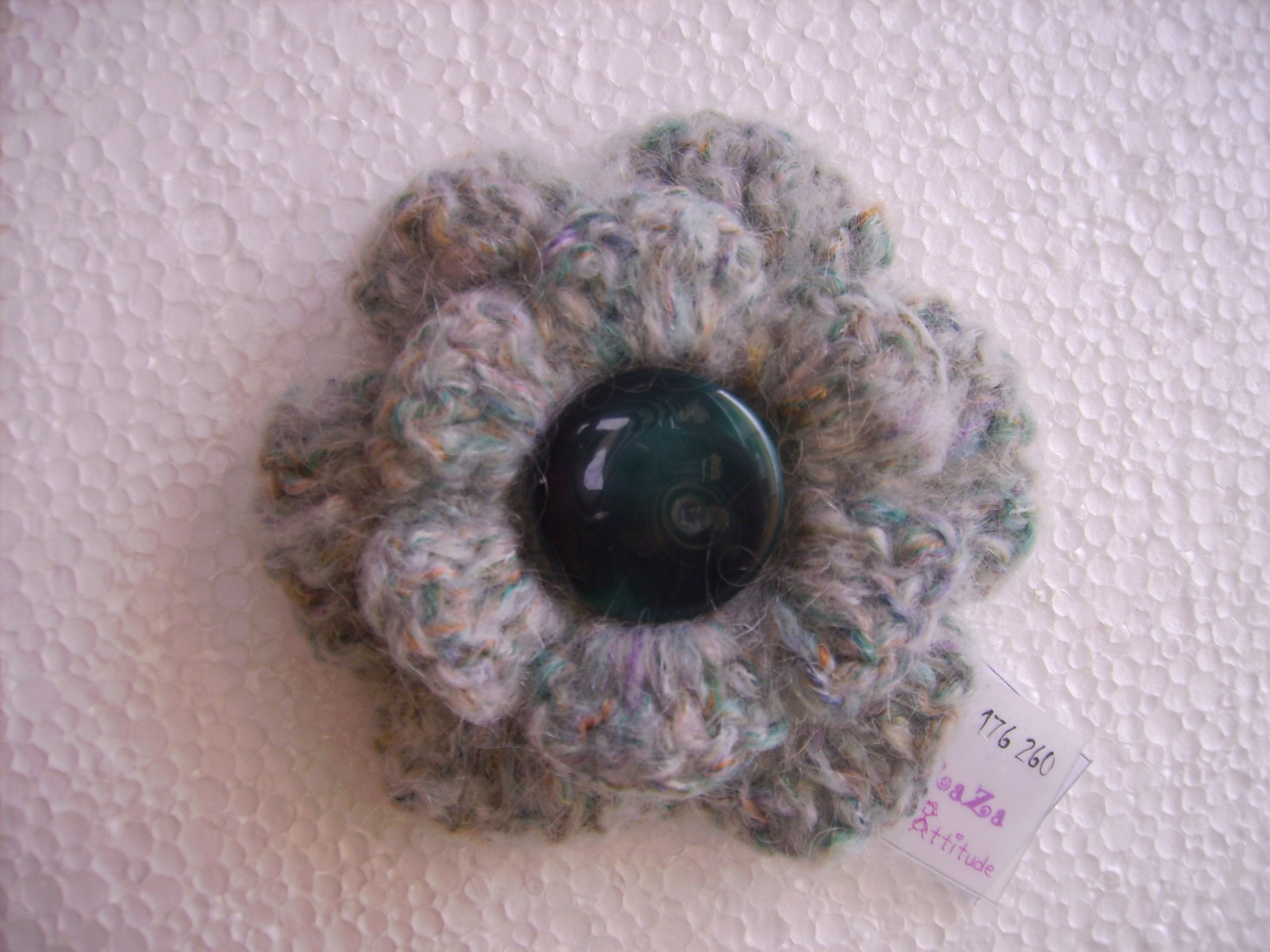 pin order marusya wool scarf to made brooch and hat crocheted set