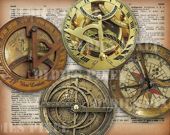 4 Vintage Compass Collection Digital Collage Sheet 4 Inch 3 Etsy In 2020 Vintage Compass Digital Collage Sheets Collage Sheet