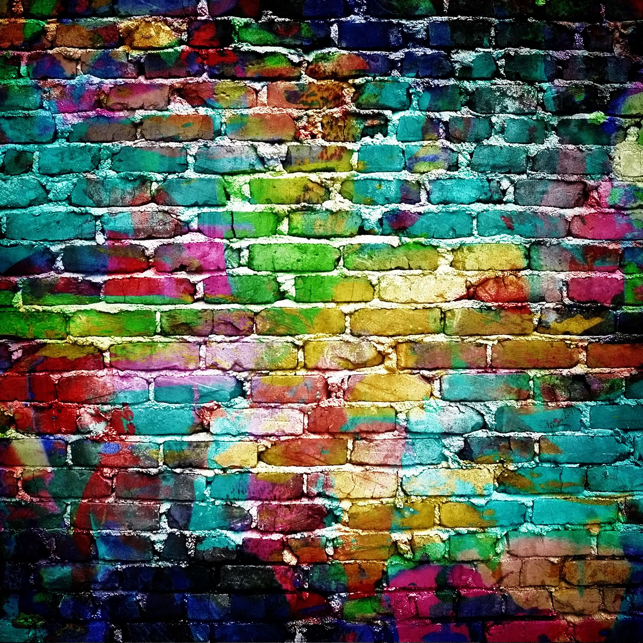 colorful brick wall street art pinterest drawings