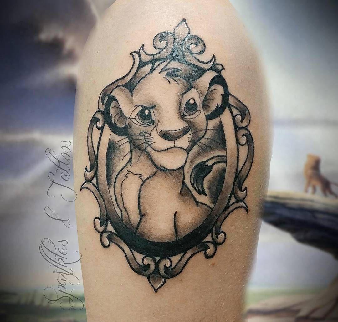 27 Simba Tattoo Ideas Lion King Tattoo Tattoos 10