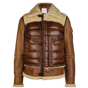 b67c41c5f MONCLER Delacroix Shearling Bomber at Flannels Fashion | Moncler ...