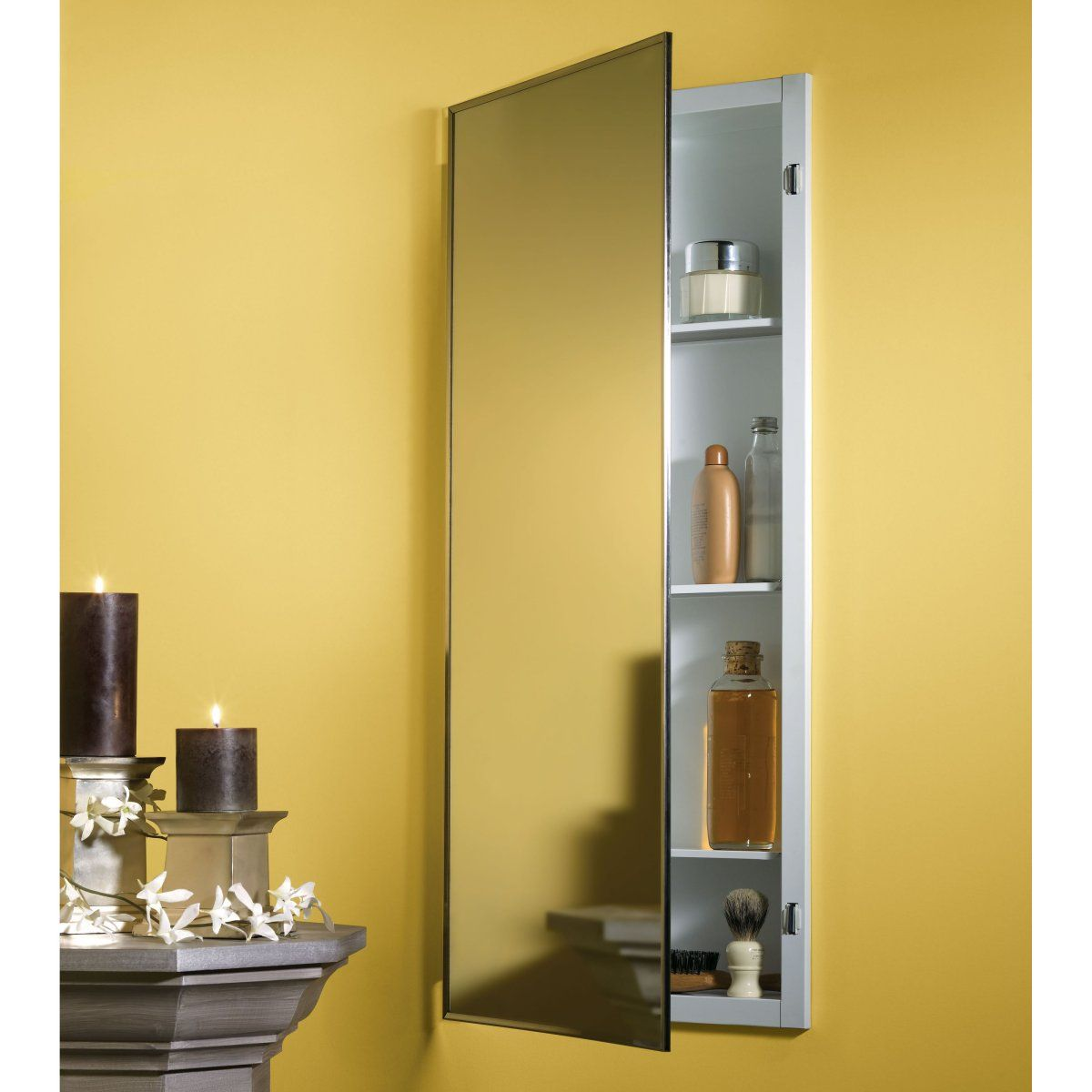 sketch of in wall medicine cabinet ideas | furniture | pinterest