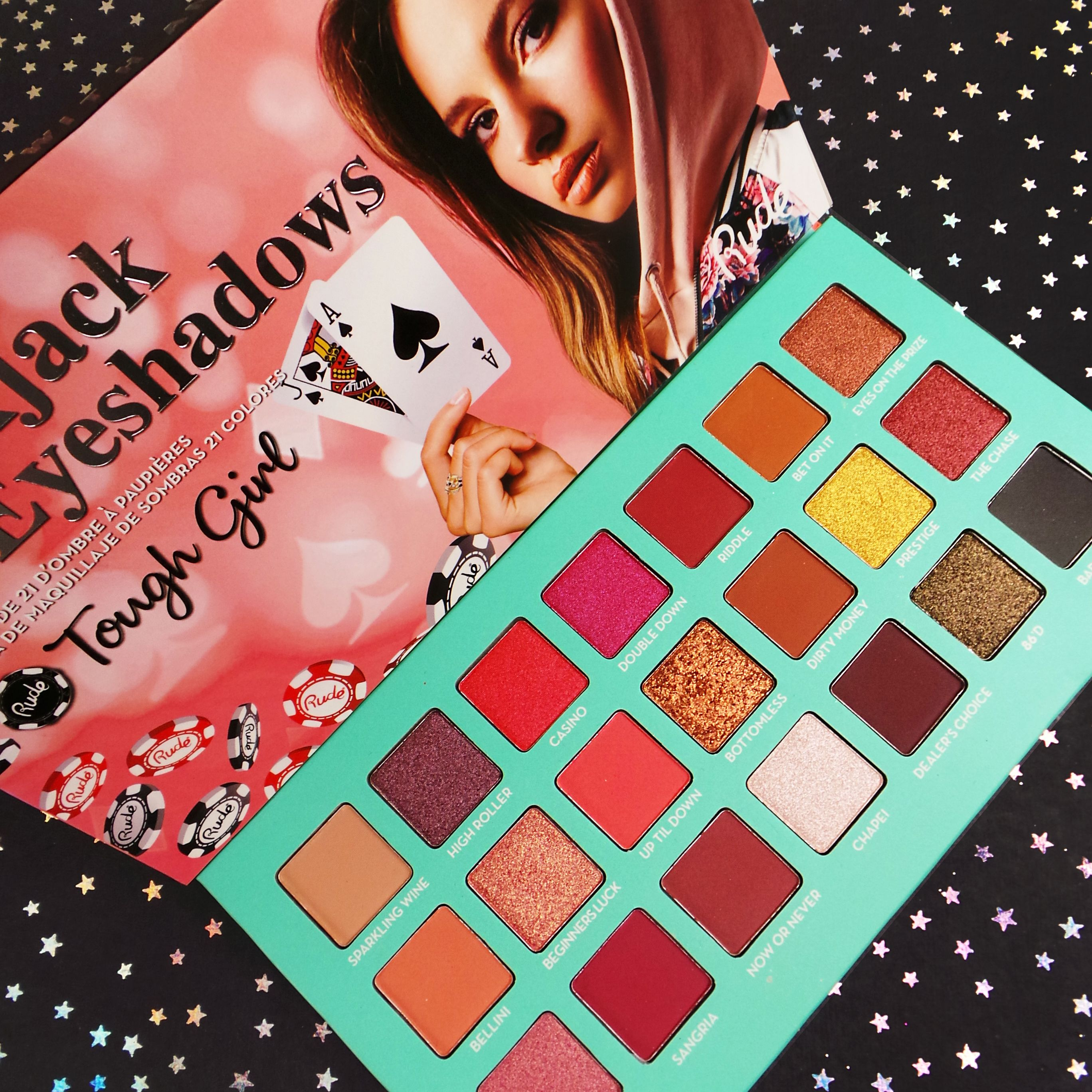 dd32935e5564 Blackjack 21 Eyeshadows collection will be available end of this ...