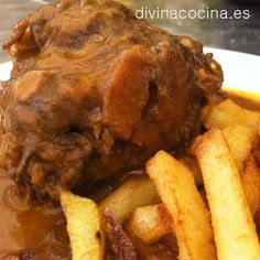 Receta de rabo de toro a la andaluza - Divina Cocina