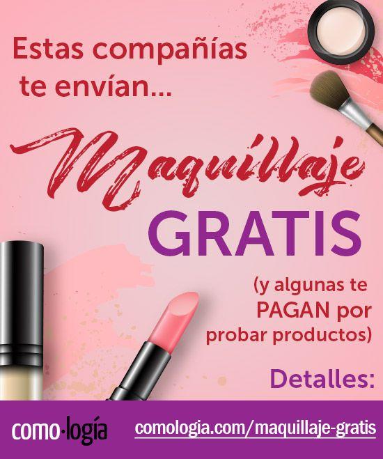 Estas compañías te envían MAQUILLAJE GRATIS y te pagan por probarlo  – Maquillaje