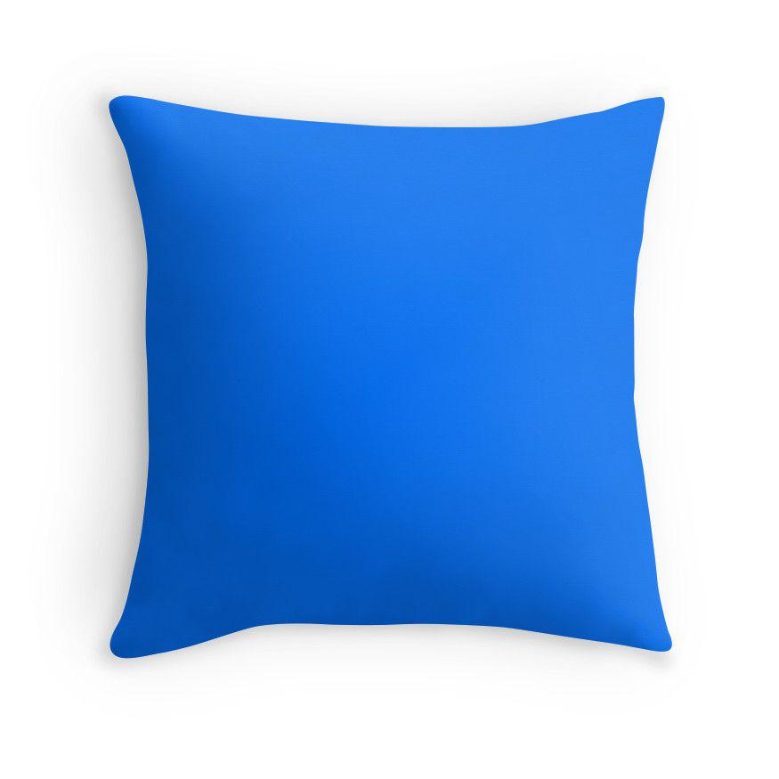 Brandeis Blue' Throw Pillow by