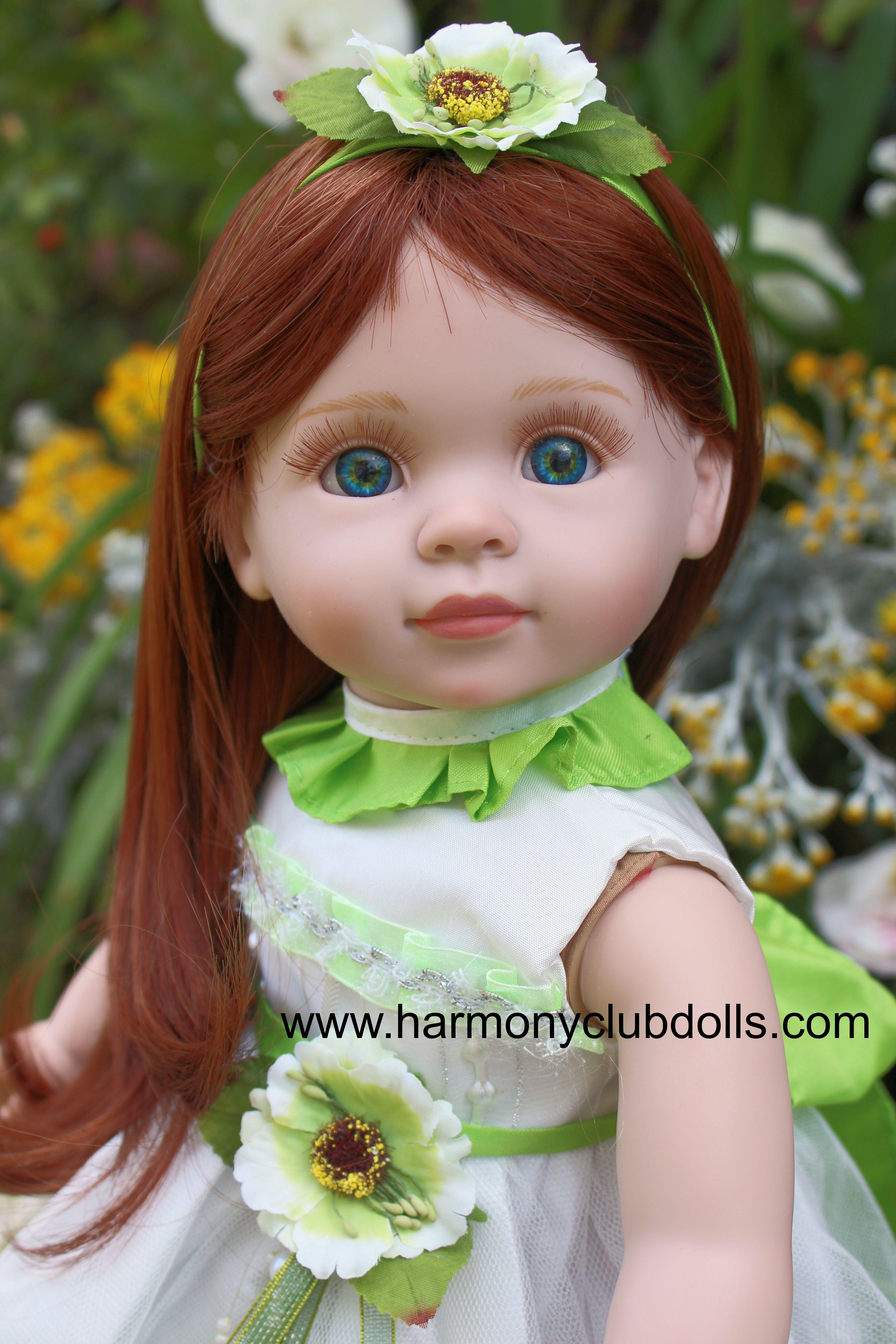 """HARMONY CLUB DOLLS 18"""" Dolls and 18"""" Doll Clothes. Visit www.harmonyclubdolls.com"""