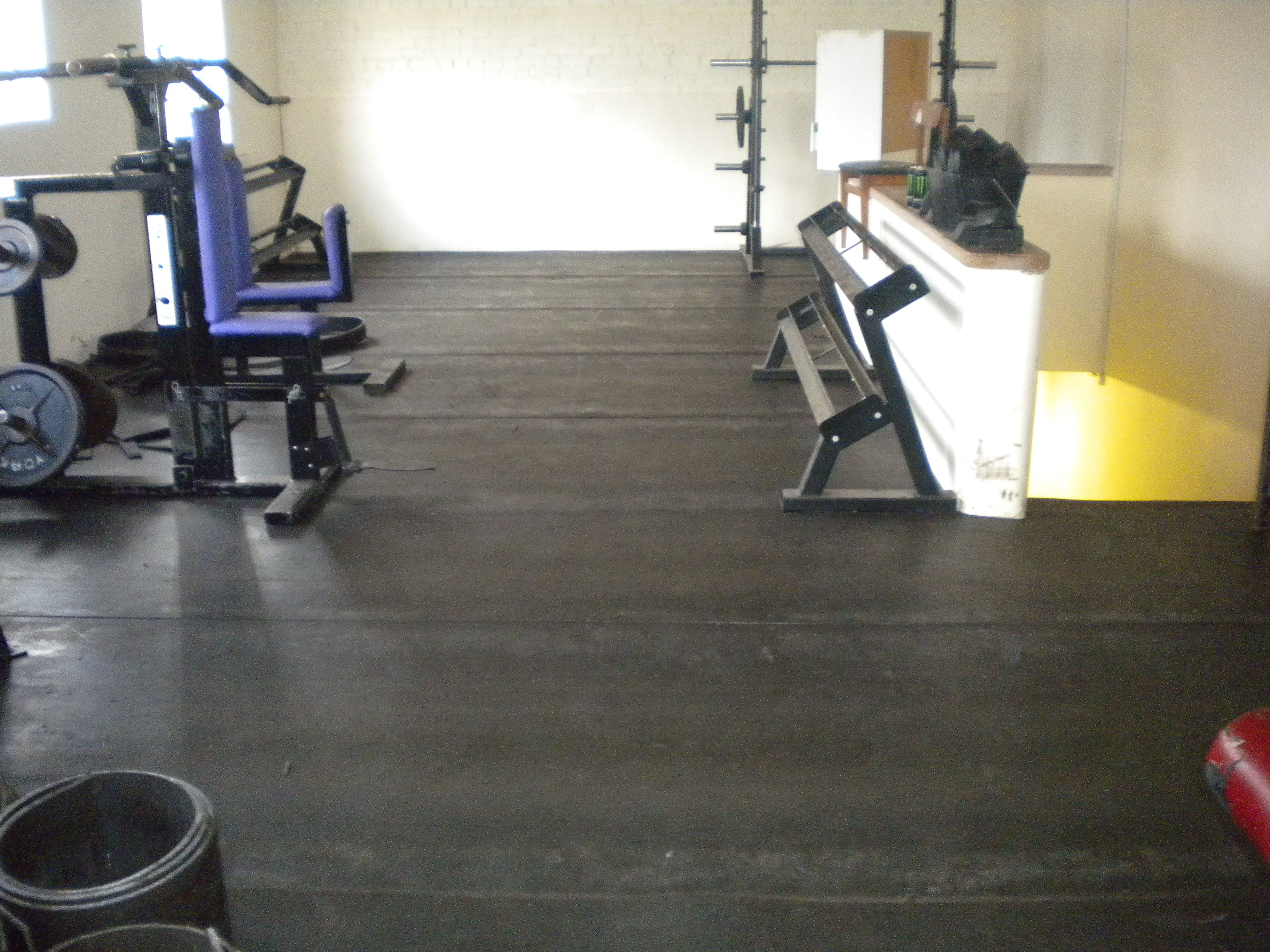 Gym Floor Protection Made From 100 Recycled Rubber Conveyor Belt