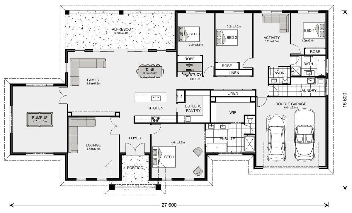 The oakdale GJ Gardiner - acreage homestead house plan   Kiến trúc ...