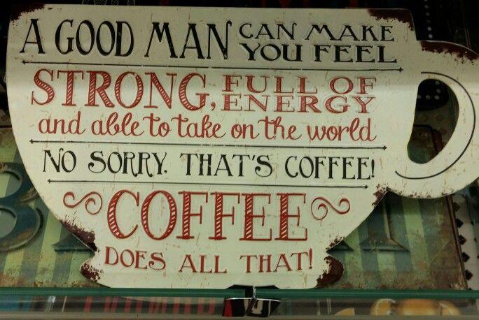 Man or Coffee