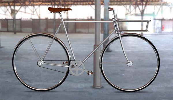 Mooie, minimalistische fiets uit Zweden