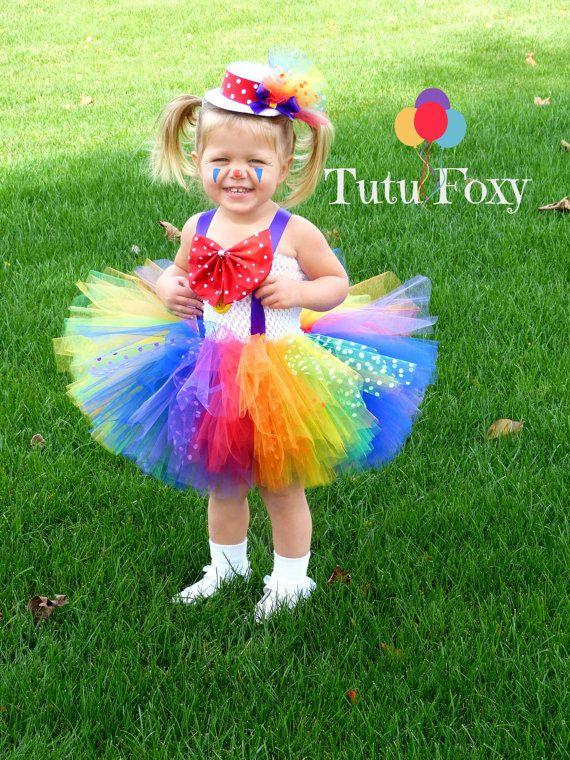 Clown Tutu Dress Clown Costume Clown Tutu Carnival