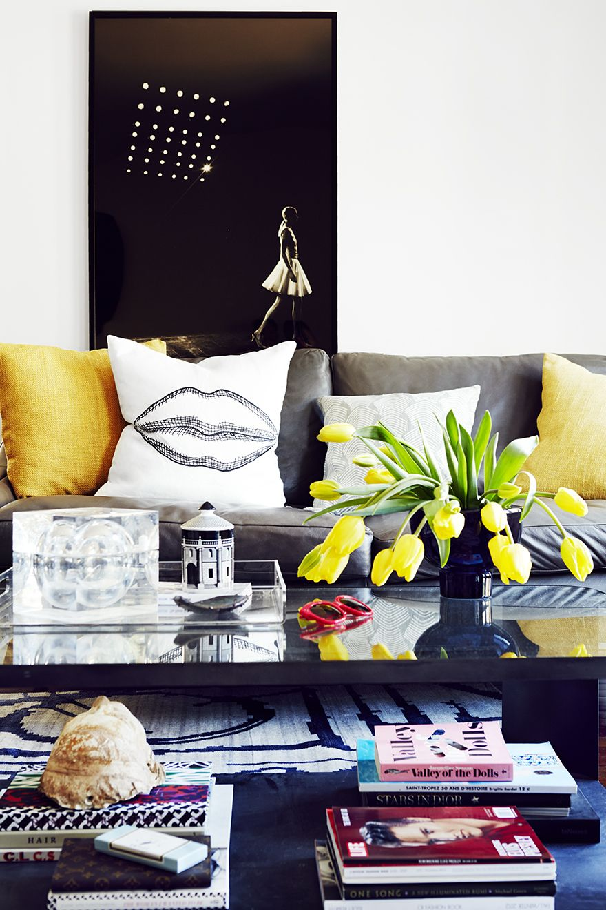 D life home interiors tour chiara ferragnius stylish la home  home  pinterest
