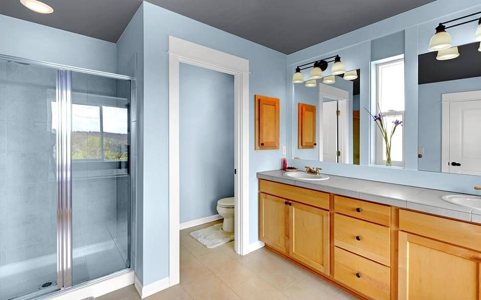 bathroom paint colors ideas for the fresh look midcityeast small grey color with