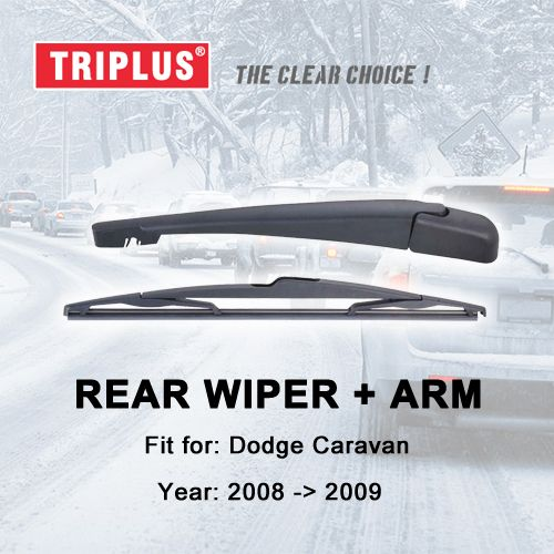 Rear Wiper Arm With Blade Compatible For Dodge Caravan 2008 2009 1set Rear Wiper Arm Rear Wiper Blades Toyota Avensis Toyota Wish Toyota Auris