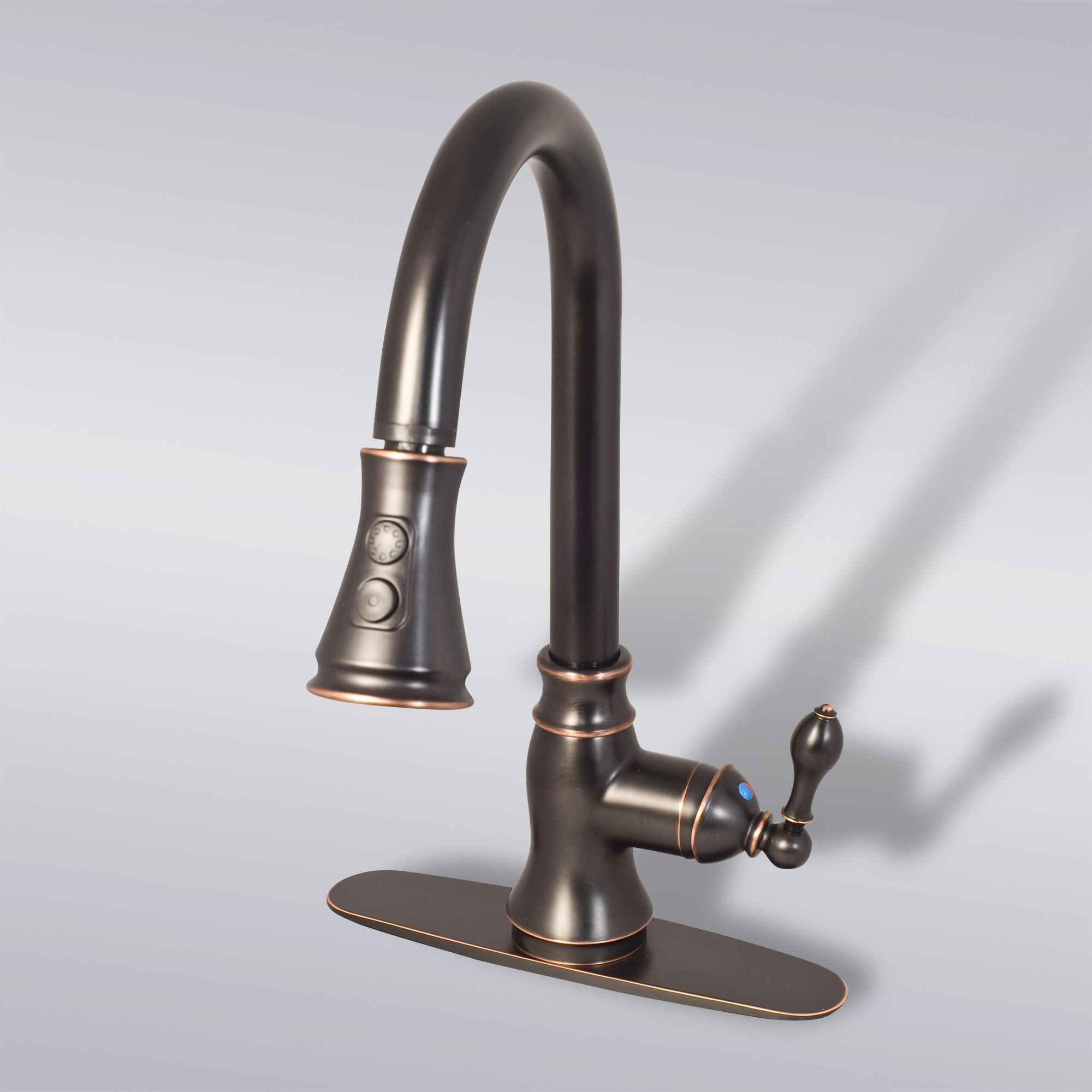 us bronze kitchen fresh faucet oil sink of black rubbed remove posite with kohler drain padlords granite