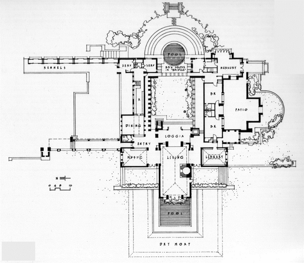Plans Of Architecture Frank Lloyd Wright Hollyhock House 1921 Los In 2020 Frank Lloyd Wright Frank Lloyd Wright Design Frank Lloyd Wright Architecture