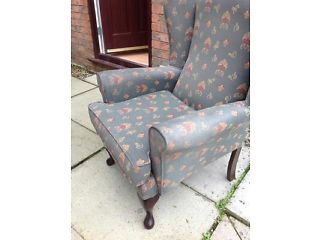 Fireside Wing Back Chair Bolton Picture 1 Chair Fireside