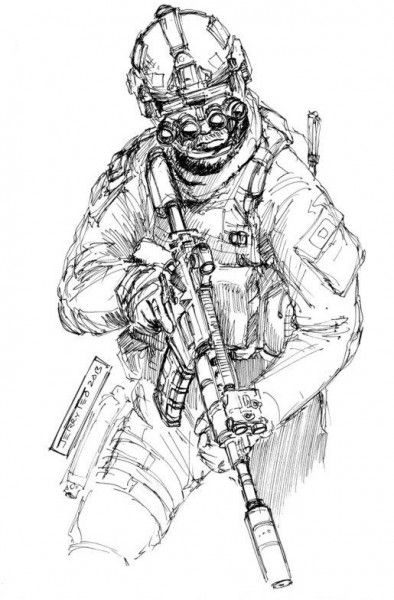 Force Character Design From Life Drawing Ebook : A tier operator by jerry teo operators pinterest