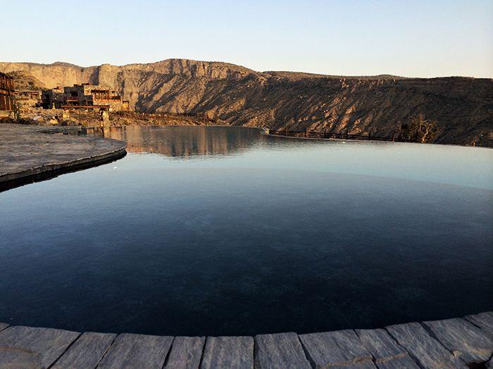 Retraite  Oman  TRAVEL  VIAJAR  Hotel piscine Piscine Htel design