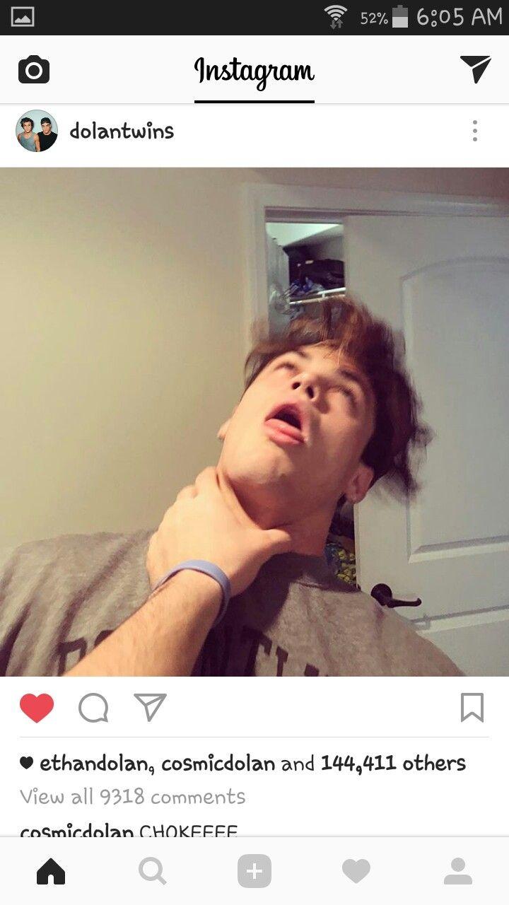 Choke Me Dolan Twins Grayson Dolan Twins Youtubers