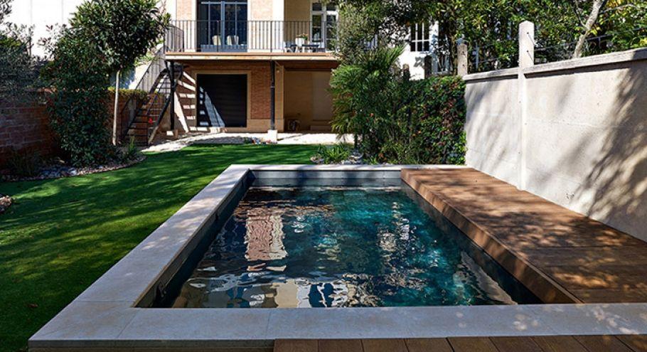 mini piscine 10m2 id e deco en 2019 mini piscine. Black Bedroom Furniture Sets. Home Design Ideas
