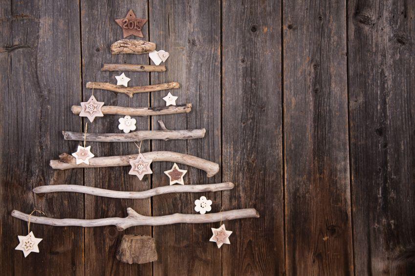 Weihnachtsbaum Aus ästen Und Zapfen Basteln Weihnachtsbaum